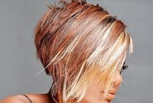 Beauty: Hair Affair / Hair cuts and color. / by Angie Rowe