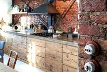Living - The Kitchen / These are all kitchen spaces and kitchen appliances that I like