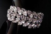 Beautiful statement cuffs / Bridal crystal statement cuffs using Swarovski crystals and pearls
