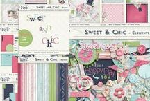 Sweet and Chic / Sweet and Chic by Vero - The French Touch - 30 - 60% off + exclusive FWP ! @ http://scrapbookbytes.com/store/manufacturers.php?manufacturerid=243 @ https://www.digitalscrapbookingstudio.com/store/index.php?main_page=index&cPath=13_471