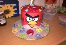 Liam's angry birds party / Angry birds turned out to be a easy party