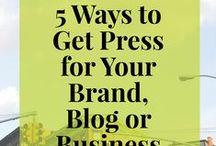 Blogging + Business Tips