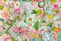 Boho Spring / Boho Spring  by Vero - The French Touch - The Hatchery collection - 1-2 $ per pack @ http://bit.ly/Vero_TDC