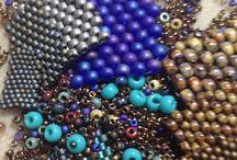 Bi Tissage / Procédés et techniques de tissage de perles. Fils, Types de billes