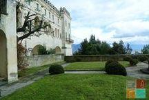 """Certosa di San Martino / Lo spazio della preghiera, tra il silenzio del verde collinare e il """"frastuono"""" barocco di marmi e volute."""