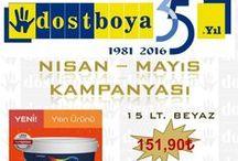 DB Nisan - Mayıs 2016 Kampanya / Dost Boya Nisan - Mayıs 2016 Kampanya