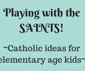 Catholic ideas/toys for elementary age kids / Catholic toys that will inspire our kids to grow up to be loving and God fearing.