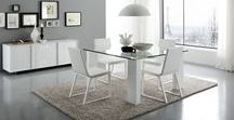 Dining Sets with Chairs / Modern and Italian design dining room sets, contemporary dining room furniture, quality affordable dining room furniture. Our amazing selection of dining room collection will make your house the envy of the neighborhood. Imagine your family events hosted in high style. Our dining room sets are a great way to enjoy quality time with family and friends in a relaxed and stylish way. Pick your new dining room furniture below! A stylish dining room set is a great way to enhance your home.