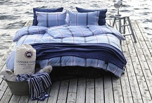 Canada Goose Home by Inside too / Canada Goose has been manufacturing innovative, high quality outerwear in Canada for over 50 years. Canada Goose Home takes that same dedication to quality and supplies bed linen, cushions and throws to the home.