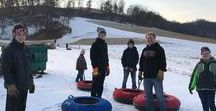 Onsite Snow Sports / Snow Sports at Justin Trails Resort Include:  sledding/snow tubing, snowshoeing, xc sking, skijoring & fatbiking. $5/Person/day (Under age 5 free) Open daily 10:00—5:00. Rent Snowshoes $5, XC Skis $10. Lessons: We provide Snowshoe, XC Ski & Skijoring lessons. 7452 Kathryn Avenue Sparta WI 54656 www.justintrails.com