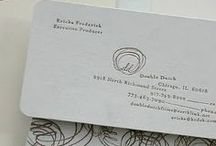 Business cards. / by Ana Balboa