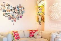 Make It Your Home / Boarding School tips on making your dorm room feel like home.