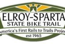 Elroy-Sparta Bike Trail / 2015 is the 50th Anniversary of the Elroy-Sparta Bike Trail, the FIRST rails-to-trails bike trail in the United States.