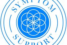 Symptom Support Blends / Vibrant Blue Oils Symptom Support blend helps support symptoms while healing underlying conditions