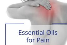 Essential Oils for Pain / Vibrant Blue Oils Essential Oils to Support Pain Relife