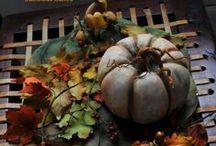 Torty - jeseň, záhrada, jedlo