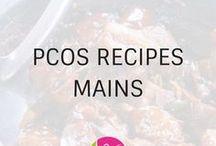 PCOS Main Recipes / What can you eat for supper (or dinner) with PCOS? Here are loads of recipes that are PCOS friendly and healthy. Perfect for family weeknight meals!