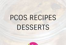 PCOS Dessert Recipes / PCOS Friendly dessert recipes for you. Dessert can be healthy too without sacrificing on taste.