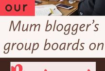 Mama blogger's group board / Mamas coming together to share our pins. If you would like to join PM me.  Add your pins to this group board to get more traffic to your blog.  Please use the sections (add more if needed) and no more than 5 pins per day and invite one person.  Many thanks xx