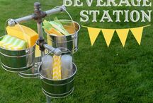 Outdoor Entertaining Ideas / There is no better place to entertain then outdoors in God's land. Here are some ideas to help you on your way...