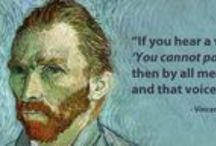 Artful Inspiration / Never give up on your dreams. Here are some quotes to inspire you today.