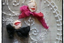 My Creations / My whimsical world where pretty clay and vintage lace meet...