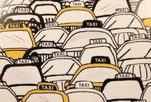 """Call Me a Taxi / """"A city is more than a place in space, it is a drama in time""""  ― Patrick Geddes"""