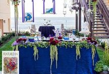 Sweet Table Boutique by La Dolce Idea / Candy stations and dessert tables styled by www.LaDolceIdea.us