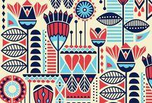Pattern and design / by Jo Rudd