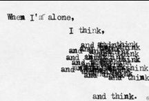 Typewritten / by Guia L