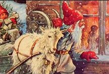 Yule / Christmas / Celebrating both the Pagan significance of the Winter Solstice as well as the Christian traditions that I was raised on. / by Sonia Even