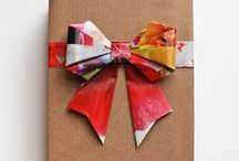 Gifts / Wrapping  / Give a little: / by Chloé Jackson