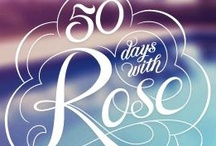 Arabella Rose / A hint at the fun, fresh, sparkling flavour of Arabella Rose's 50 day adventure... http://www.facebook.com/50dayswithrose