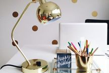 || WORK SPACES || / Dreamy work spaces to inspire you to work hard and  'get shit done' x