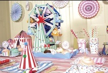 ☆ Fairground Party ☆ / All the fun of the Village Fair for your party! Find lots of inspirational party supplies here: http://www.partypieces.co.uk/kids-party-children-s-parties-party-supplies/kids-party-themes/village-fair-themed-party-supplies.html