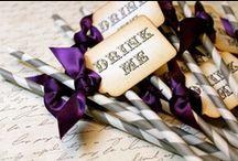 ♡ Grey & Purple Wedding ♡