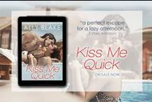 """""""Kiss Me Quick"""" (The Cinderella Project) / """"Kiss Me Quick"""" by Ally Blake @holidaybooks"""