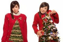 Crazy Holiday Sweaters / Goodwill is THE go-to place for crazy Holiday sweaters! Take yours from ho-hum to ho-ho-ho by adding a Goodwill twist! Here's a collection of our favorite crazy sweaters...