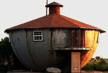 Bizarre Buildings and Homes / No limits here. Repin as much as you want.  / by Dawn Jostiak