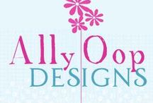 AllyOop Designs / AllyOop Graphic Design Websites, Facebook pages, Twitter Profiles, ebook covers.