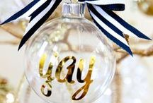 Holiday Glam / Winter holiday decor