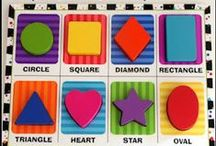 Colors, Shapes & Numbers