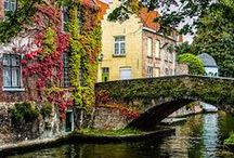 Bruges romantic corners / Bruges discover the beautiful corners.