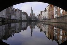 Beautiful architecture in Bruges / Enjoy the architecture.