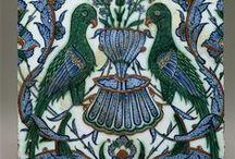 Céramiques Orientales / Céramiques ottomanes d'Iznik, céramiques persanes, céramiques marocaines...