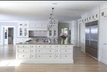 Kitchens / Beautiful white and dark wood kitchens and butlers pantries