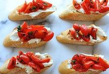 Appetizers & Hors d'Oeuvres / Delicious choices for when you want to entertain