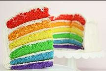 ❤ Taste the Rainbow ❤ / Rainbow party and dessert ideas! / by Layer Cake Shop