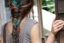 Love that hair / If I could, I'd make my hair look like that...
