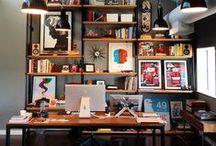 workspace wonders / sweet surroundings for a nice work or studio space